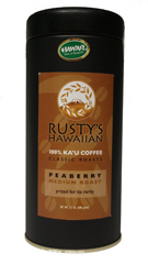 Best kau coffee rusty peaberry medium roast