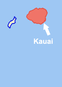 kauai map - coffees of hawaii